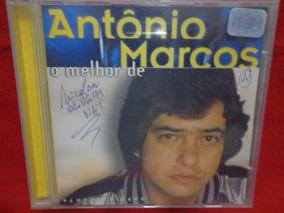 Cd Antonio Marcos - O Melhor De