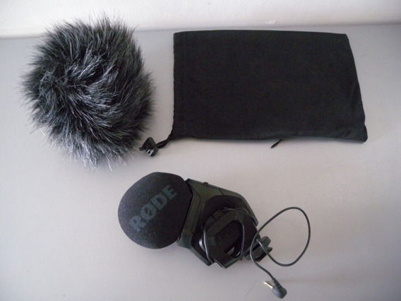 Microfone Profissional Rode Videomic Pro C/ Deadcat