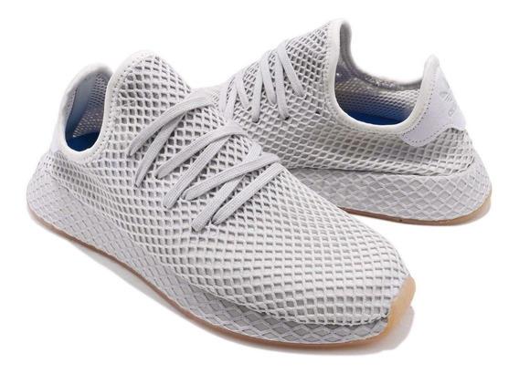 adidas Originals Deerupt Runner Gris Hombre Correr Tenis Gym