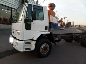 Ford Cargo 1317 F 2007/2007 Branca Chassi
