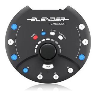 Interface De Audio Blender Tc Helicon Mixer Analógico