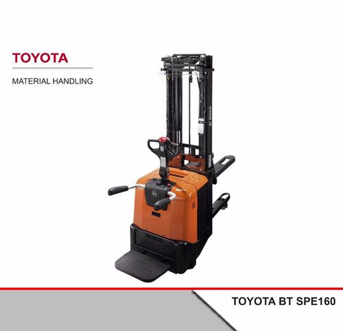 Apilador Eléctrico Toyota Bt Spe160 + Batería + Cargador