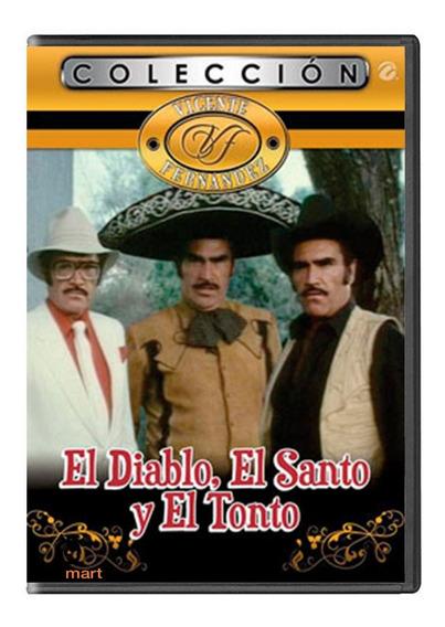 El Diablo El Santo Y El Tonto Vicente Fernandez Pelicula Dvd