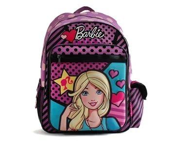 Mochila De Espalda Barbie 41 Cm Violeta