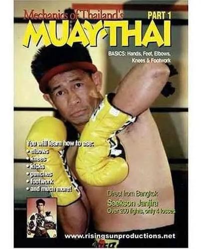 Mechanics Of Thailand's Muay Thai. Entrenamiento En Dvd