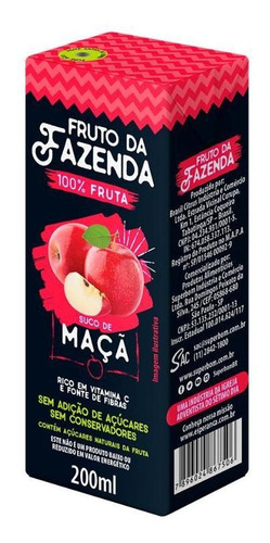 Suco De Maca 100% - Tetra 200ml