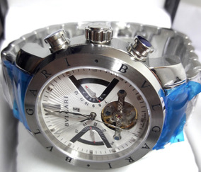 Relógio Masculino Bv477 Prata Automático Funcional Original
