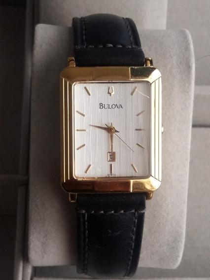 Elegante Reloj Bulova Para Caballero