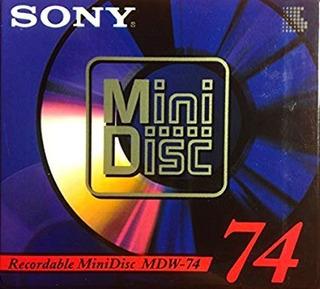 Minidisc 74 Minutos Usados Sony Y Jvc