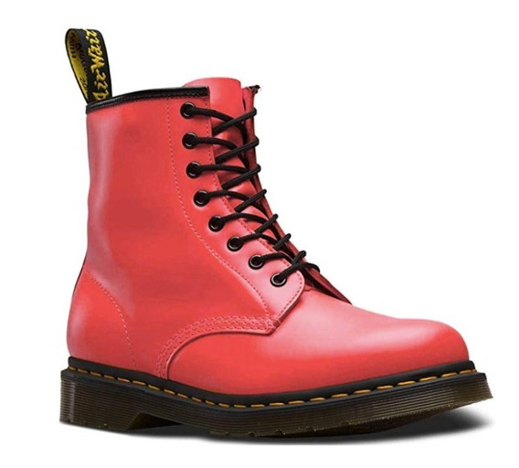 Dr Martens Satchel Red Smooth