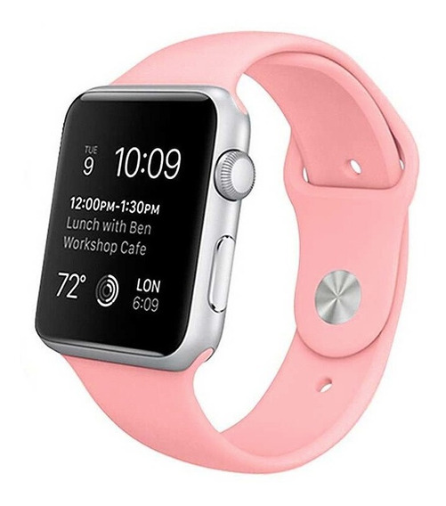Correa Color Rosa Apple Watch 38mm 42mm Serie 1 2 3 4 5