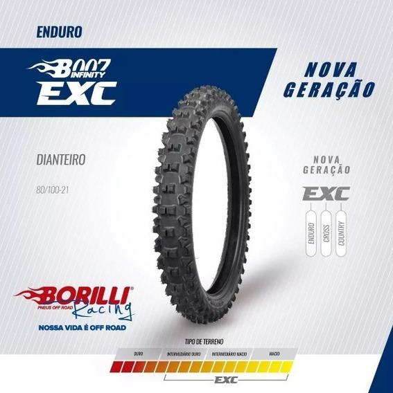 Pneu Borilli Dianteiro Exc Trilha 80/100- 21 Promoção