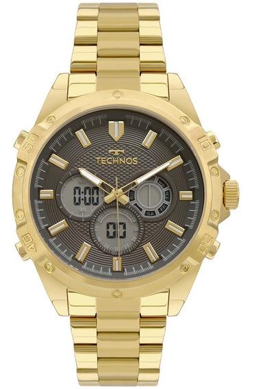 Relógio Technos Masculino Analógico/digital Mult Bj3814ab/1p