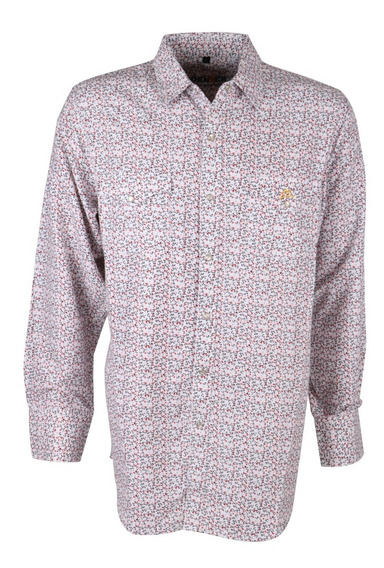 Camisa Vaquera Icy Denver Chh034 Color Blanco Print