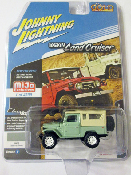 Johnny Lightning, 1980 Toyota Land Cruiser Fj40, Escala 1/64