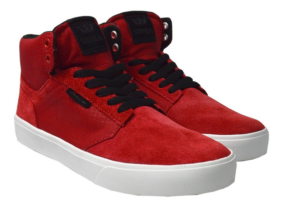 Tenis Supra Hombre Rojo Yorek High 08048602