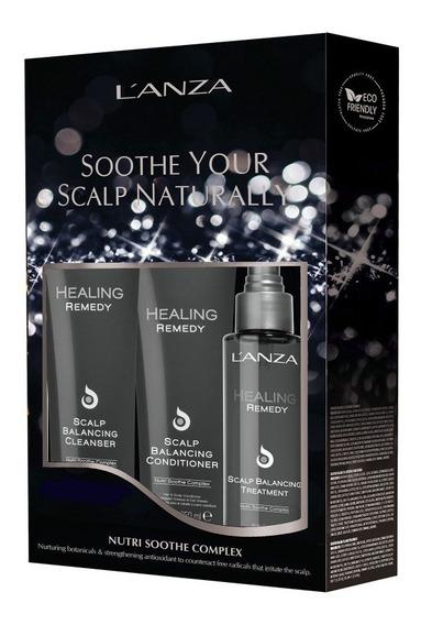 Lanza Kit Soothe Your Scalp Naturally (3 Produtos)