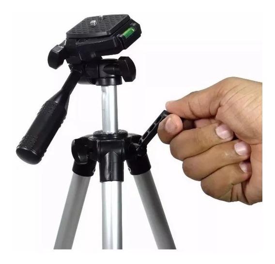 Tripé Portátil Para Projetores Cameras E Celulares