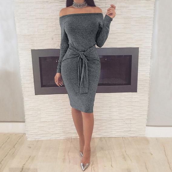 Nuevas Mujeres Atractivas Fuera Del Vestido Del Hombro