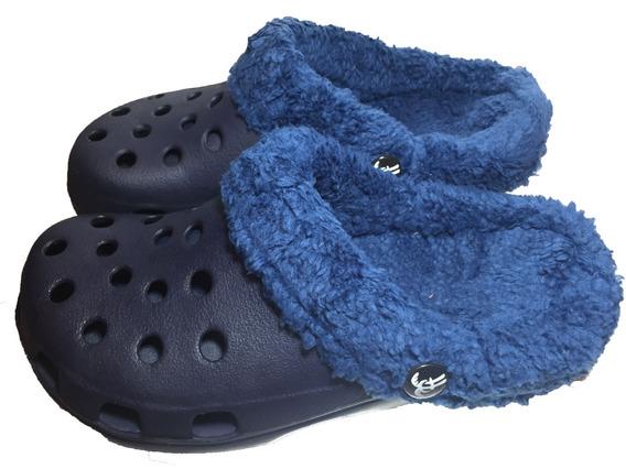 Crocs Con Peluche Hawaianas.!