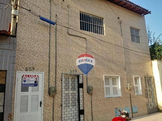 Casa Com 2 Dormitórios Para Alugar, 55 M² Por R$ 700,00/mês - Cidade 2000 - Fortaleza/ce - Ca0051