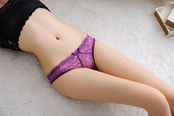 Tangas/mujeres Lenceria Sexy Tanga De Encaje Panties