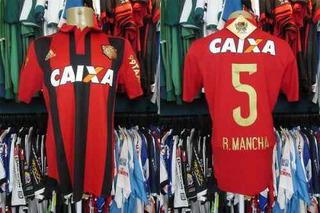 Sport Recife 2015 Camisa Titular Tamanho M # 5 R. Mancha.