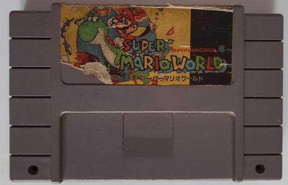 Super Mario World - Snes - Leia O Anúncio