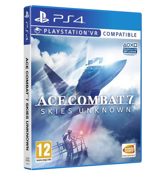 Ace Combat 7 - Ps4 - Pronta Entrega! Mídia Física!