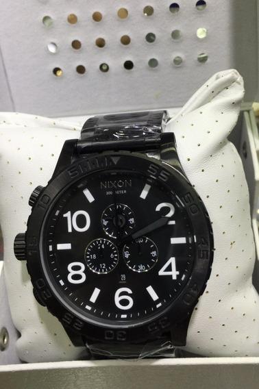 Relógio Xy127 Nixon 51 Preto A083 2790 Australiano Oferta