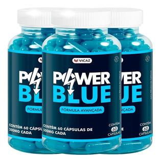 Power Blue Ereção Prolongada 500mg 3 Unidades