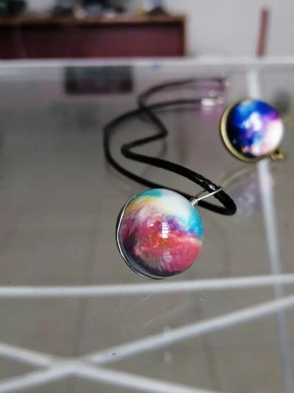 Collares Con Diseño De Galaxia, Nebulosa O Demas Modelos