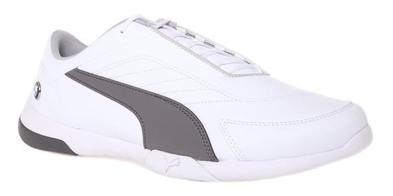 Tenis Puma Bmw Mms Kart Cat 3 Originales Blanco Oferta