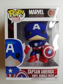 Funko Pop Símil Capitán América Marvel