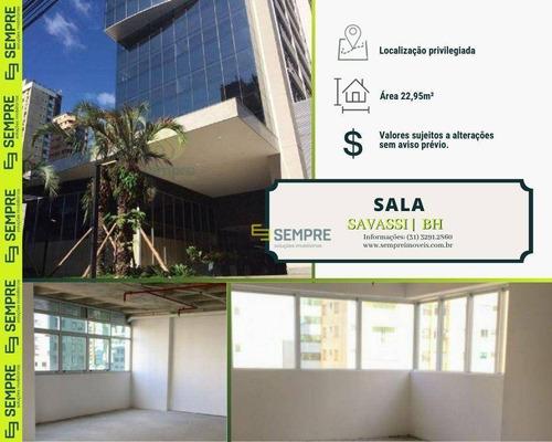 Imagem 1 de 29 de Sala À Venda, 22 M² - Savassi - Belo Horizonte/mg - Sa0129
