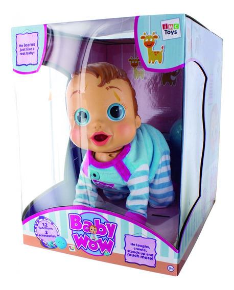 Boneca Baby Wow Engatinha