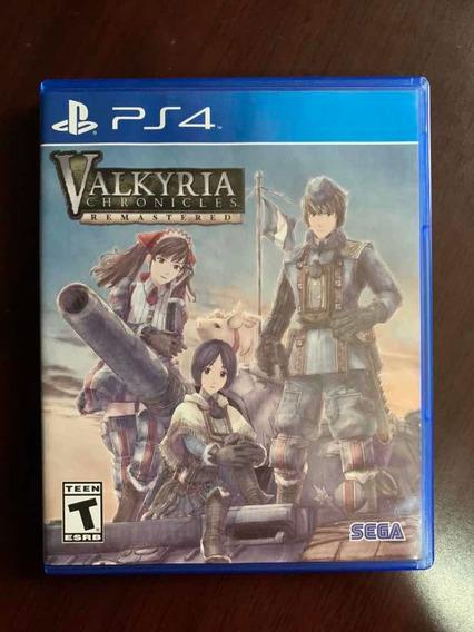 Valkyria Chronicles Remastered Ps4 Mídia Física