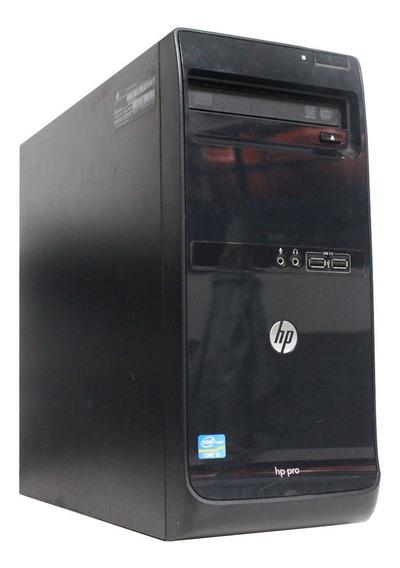 Computador Hp Pro 3500 I3 8gb 240ssd #memórias E Hds Novos