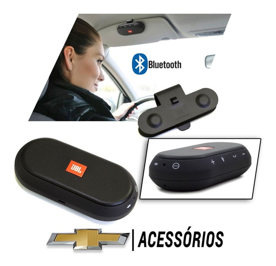 Caixa Viva Voz Bluetooth Jbl Original Chevrolet Usb Mp3
