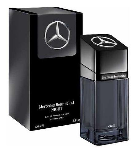 Imagen 1 de 3 de Perfume Mercedes Benz Select Night For Men Edp 100ml