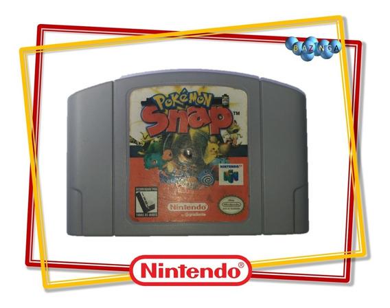 Pokemon Snap Original Nacional Nintendo 64