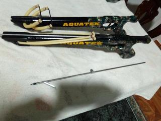 Arpon Artesanal En Madera Doble Liga 50cm...