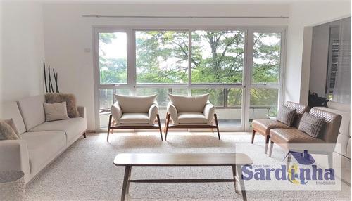 Imagem 1 de 12 de Apartamento À Venda - 220 M2 - Morumbi - São Paulo - 2498