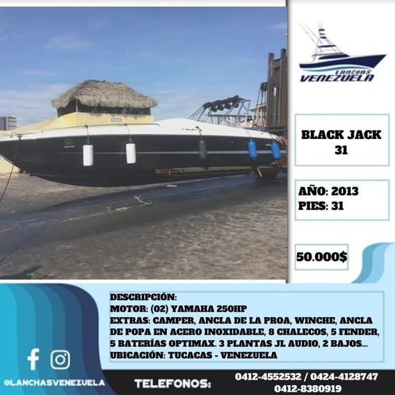 Lancha Black Jack 31 Lv557