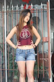 Shorts Forum Feminino Numero 36 Rasgado Detonado