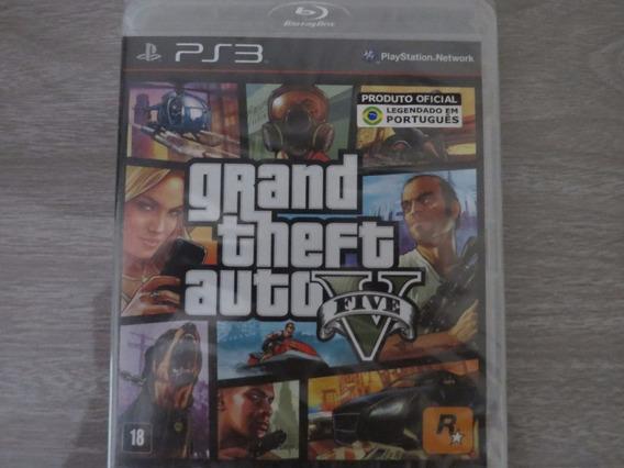 Gta V 5 Para Sony Playstation 3 Ps3 Em Português
