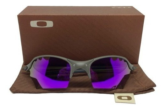 Óculos Oakley Romeo2 Parriot Vendet Cinza Lente Roxa + Fret