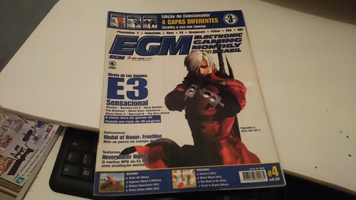 Revista Egm Brasil 4 Capa Dante Impecável