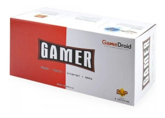 Console Gamer + Tv Box Android 7.1 Smart C/ 6000 Jogos