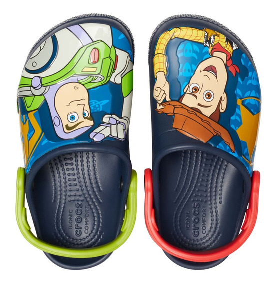 Zapato Crocs Infantil Woody Y Buzz Clog